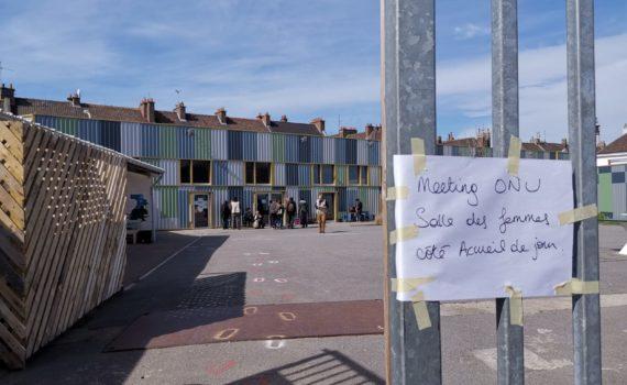 ONU Calais Visit April 2019